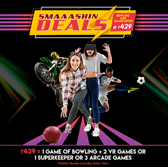 Bowling And Games Offer