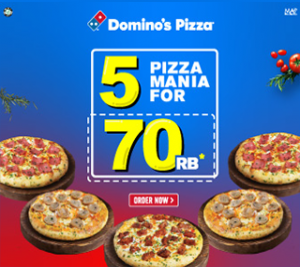 5 Pizza Mania For 70k