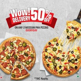 Wow Delivery 50% Off