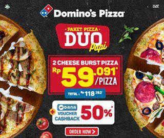 Paket Pizza Duo Cheeseburst