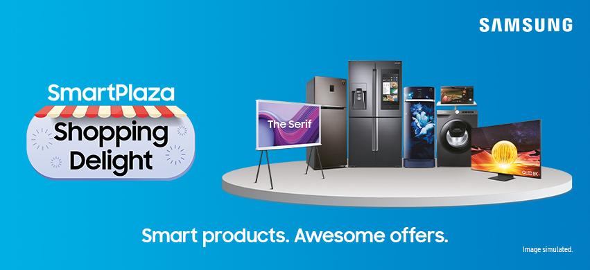 Visit our website: Samsung SmartPlaza