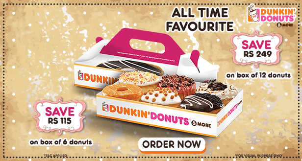 Visit our website: Dunkin' Donuts - Green Park, New Delhi