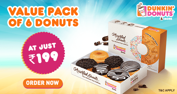 Visit our website: Dunkin' Donuts - Paschim Vihar, New Delhi
