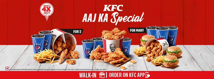 Visit our website: KFC - Terminal 1 D, New Delhi