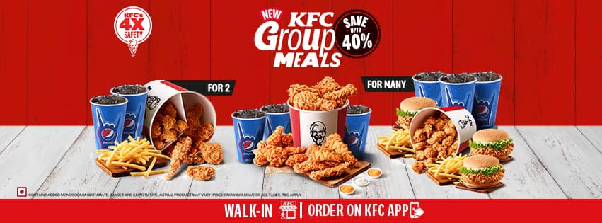 Visit our website: KFC - terminal-1-d, new-delhi