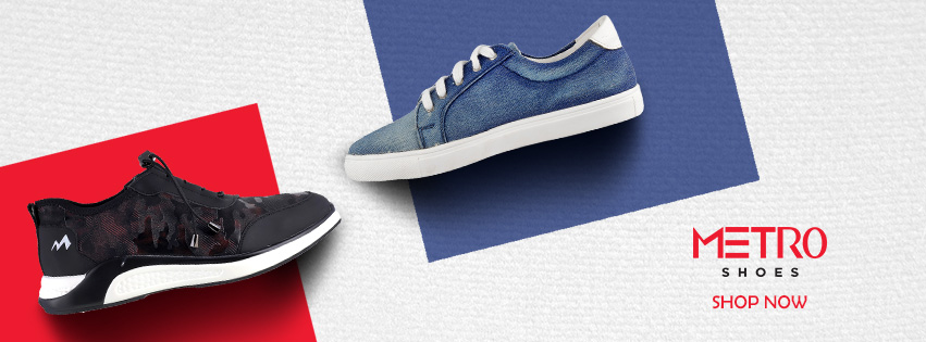 Visit our website: Metro Shoes - Parle Point, Surat