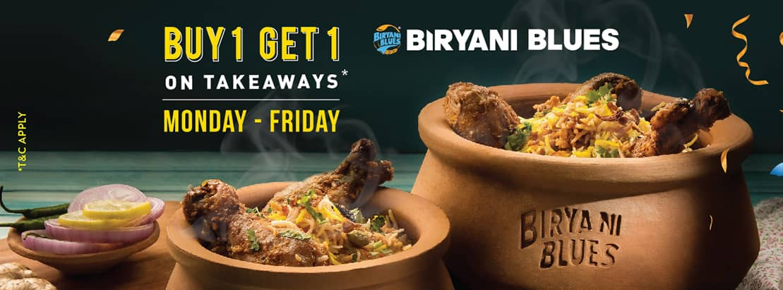 Visit our website: Biryani Blues - Sector 33, Noida