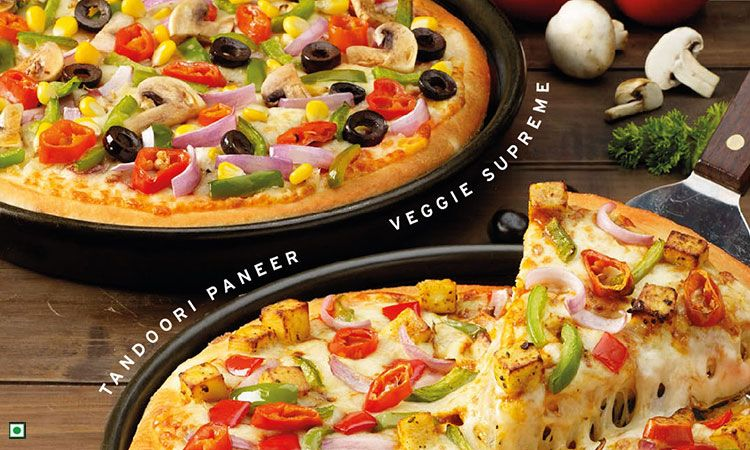Soft pizza hut pizza